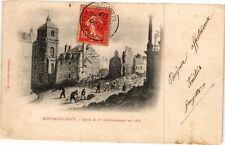 CPA Montmédy Haut-Aprés le 1er bombardement en 1870 (231632)