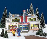 Department 56 The Original Snow Village -  Reindeer Bus Depot  #5487-4 - NEW