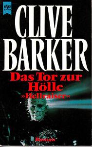 CLIVE BARKER - DAS TOR ZUR HÖLLE / HELLRAISER / 9783453052918 / 1992 / Buch