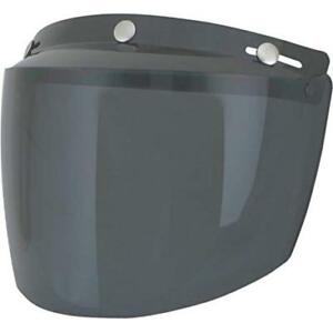 AFX Dark Smoke Vintage 3 snap Flip Up Shield