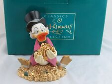"""WDCC """"Money Money Money"""" from Disney's Scrooge McDuck and Money in Box"""