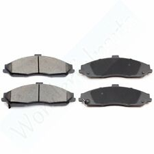 Front Rear Ceramic Brake Pads 2SET For Cadillac XLR 2006 2007 2008 2009