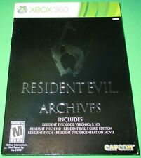 Resident Evil 6 Archives Microsoft Xbox 360 *New! *Sealed! *Free Shipping!