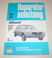 Reparaturanleitung Alfa Romeo Alfasud - ab 1977 !