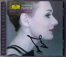 Magdalena KOZENA Signed RAVEL SHOSTAKOVICH SCHULHOFF BRITTEN RESPIGHI Lieder CD