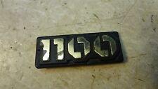 82 Yamaha Maxim XJ1100 XJ 1100 Y336' 1100cc engine size displacement emblem logo