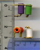Tip Jacks  Mini Banana Jack Sockets board mount lot of 40 four different colors