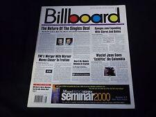 2000 JULY 8 BILLBOARD MAGAZINE - GREAT MUSIC PHOTOS & ARTICLES - C 2761