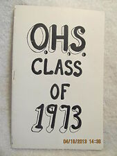 10th Reunion Program Class of 1973 Owensville High School IN Where Are They Now?