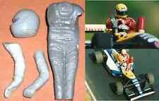 1/12 Nigel Mansell figure driver Williams Tamiya Fw14B resin plastic kit model