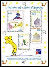 Bloc Feuillet BF20 - Le petit prince - Antoine de Saint-Exupéry - 1998