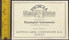 Phonola,Flügel,Pianos,Kunstsp.Inst.Hupfeld,Zimmermann,Leipzig,orig.Anzeige 1928