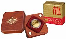 2012 Year of the Dragon Lunar Series - $10 1/10oz Gold Proof Coin, RAM