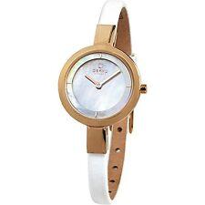 Obaku Women's Analog Display Quartz Mother of Pearl Dial Watch V129LXVWRW
