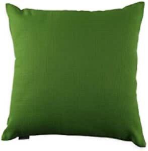 Kissenhülle Kissenbezug Dekokissen Geschenkidee Leinenoptik 45/45 cm Grün