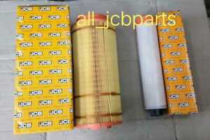 Genuine JCB AIR FILTER Set Inner and Outer (PART NO. 32/915801 32/915802)