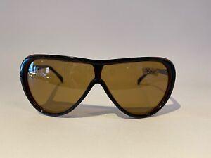 NOS Unused 1980s Vintage Persol Ratti Pininfarina PF 802 Black Red Sunglasses