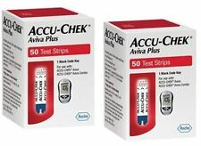 Accu-Chek Aviva Test Strips 100Ct Nfrs (2 boxes of 50ct = 100ct Total)