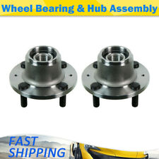 MOOG Rear Wheel Bearing and Hub Assembly 2 PCS For Chevrolet Aveo5