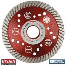 "115mm 4.5"" Diamond Angle Grinder Blade Disc Stone, Concrete & Metal Steel Cuttin"