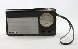 Vintage Life Tone NTR-901 Black Leather AM FM Radio
