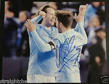 David Villa Signature Signed Auto Autograph 8x10 Photo Nycfc Mls Soccer