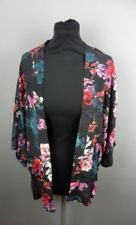 OASIS Floral Summer Lightweight Womens Jacket Size 12 UK 3/4 Sleeves Brand New
