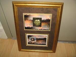 Jerry Garcia Tanzania Stamps - Limited Edition Framed 1996 Artwork Grateful Dead