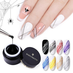 BORN PRETTY 5ml Spider UV Gel Polish Nail Art Pull Line Gel Thick Elastic Paint