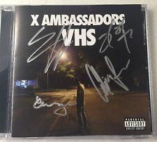 "X Ambassadors ""VHS"" SIGNED CD (Sam Harris, Imagine Dragons, Renegades)"