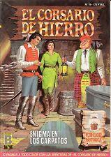 EL CORSARIO DE HIERRO (ed. histórica) nº: 19 (de 58 d colección completa. ed. B)