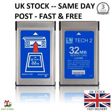 OPEL 180.000 GM TECH2 TECH 2 32MB MEMORY CARDS CARD DIAGNOSTIC SCANNER TIS