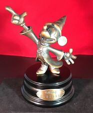 Extremely Rare! Walt Disney Mickey Mouse Fantasia Bronze LE of 1500 Fig Statue