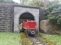 Tunnelportal Spur G, neu, für die LGB Gartenbahn, Unikat