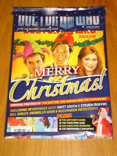 DOCTOR WHO #442 FREE 3 ART CARDS CHRISTMAS HOLIDAY SPECIAL MONTHLY MAGAZINE