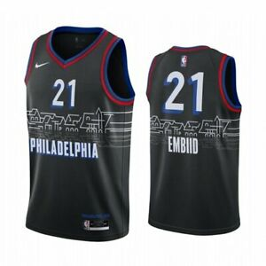 Philadelphia 76ers City Edition Black Jersey PRE-ORDER (S-XL) Simmons, Embiid