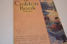 "Vintage July 1931 ""The Golden Book"" Magazine"