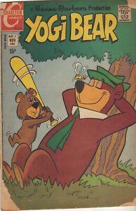 YOGI BEAR #1 Nov (1970) Charlton Comics VG but Cover, torn