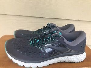 Brooks Glycerin 16 Women's Athletic Running Shoes Sneakers Grey & Teal Size 10