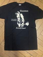 THURSTON MOORE shirt M Original Sonic Youth Ecsatic Peace
