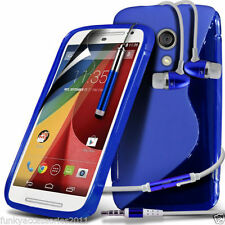 Fundas y carcasas Para Motorola Moto G4 color principal azul para teléfonos móviles y PDAs