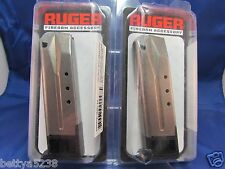 TWO Ruger Factory Magazines Mag P89 P95 MAG 10  ROUND P93 P94 PC9 clip 90098