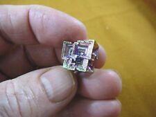 r48-31) 8.4 gram Bismuth rainbow crystal element Bi gemstone Mineral specimen US