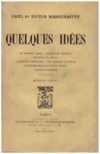 MAGUERITTE Paul et Victor - QUELQUES IDEES - 1905