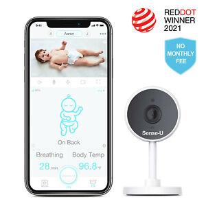 Sense-U 1080P HD Video Camera (Compatibile con Sense-u Bambino Respiro Monitor)