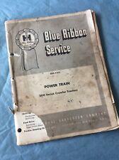 International Harvester 500 Crawler 1966 Gss 1373 Power Train Service Manual