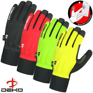 Windproof Winter Warm Cycling Gloves Touch Screen Bike MTB BMX Bicycle Gloves