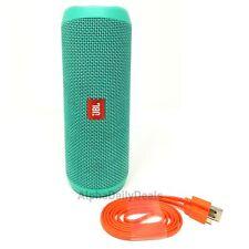 NEW JBL Flip 4 Teal Speaker Waterproof Portable Bluetooth Wireless Stereo