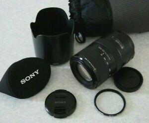 Sony 70-300mm F/4.5-5.6 SSM G Lens - SAL70300G - SLT / DSLR (Minolta) A Mount