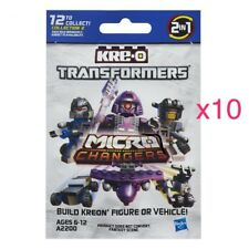 KRE-O Transformers Micro Changers 2 in 1 Collection 2- Lot of 10 Random Baggies
